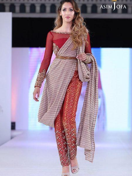 Asim Jofa Formal Saree style
