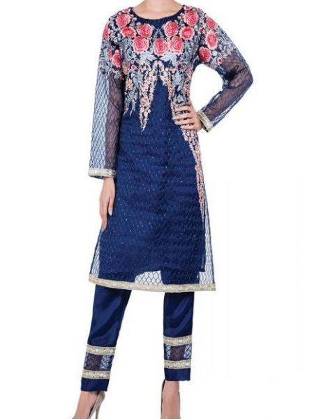 Sitara Studio Fashion Wear-01 OFWD01-MDM-BLU-Blue