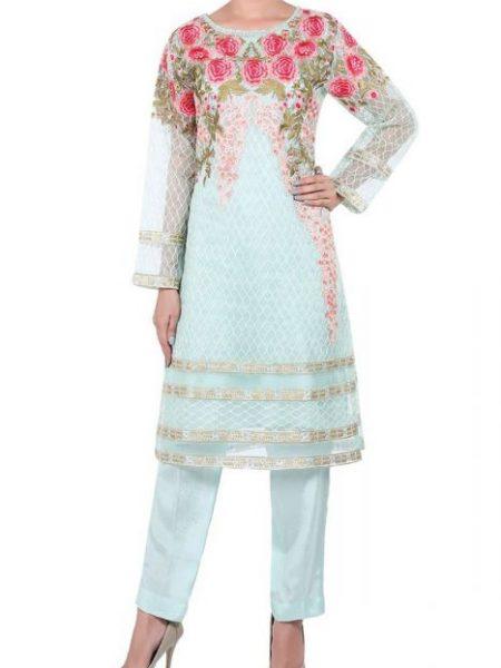 Sitara Studio Fashion Wear-01 OFWD01-MDM-FRZ-Ferozi
