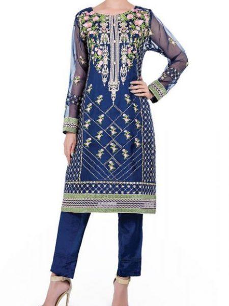 Sitara Studio Fashion Wear-02 OFWD02-MDM-BLU-Blue