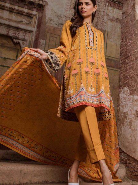 Zeen Woman Raked Leaves WL386009-Mustard