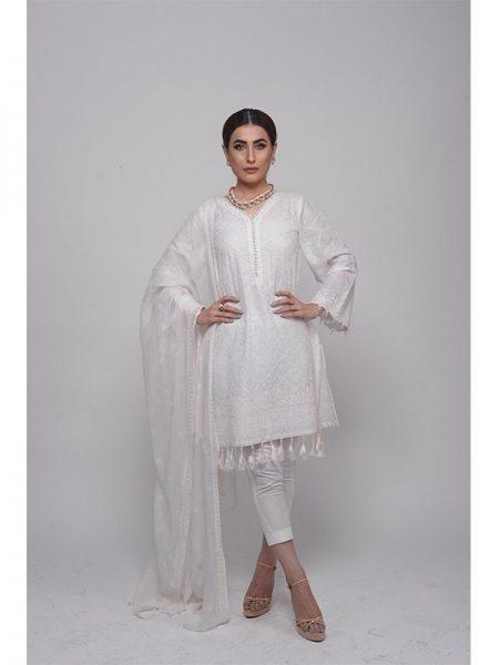 Grandiose White - Tatriz Rasi Collection by Ala Rasi