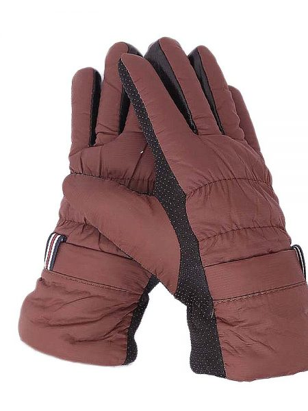 Women's Winter Gloves - Brown