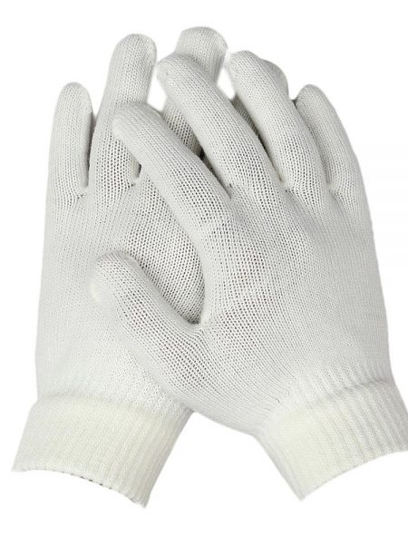 Women's Woolen Gloves - White