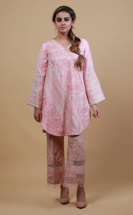 Zellbury Pre Spring Collection 19 Varda 2 Pcs Suit Cambric