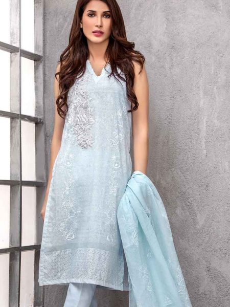 Gul Ahmed Lawn Collection 3 PC CL-614 A