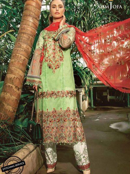 Asim Jofa Luxury Lawn 19 Ajll-02b