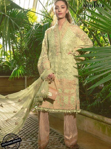 Asim Jofa Luxury Lawn 19 Ajll-04b