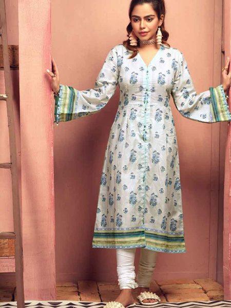 Gul Ahmed 1 PC Lawn Shirt SL-673