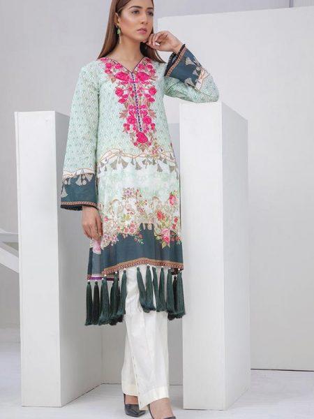 Orient Textiles Spring Summer Collection 2019 OTL-19-102-A/U