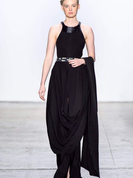 Sania Maskatiya Draped dress