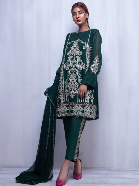 Artimmix CHIFFON EMBROIDERED SUIT AR02248