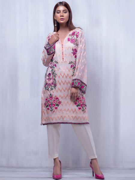 Artimmix CHIFFON EMBROIDERED SUIT AR02301