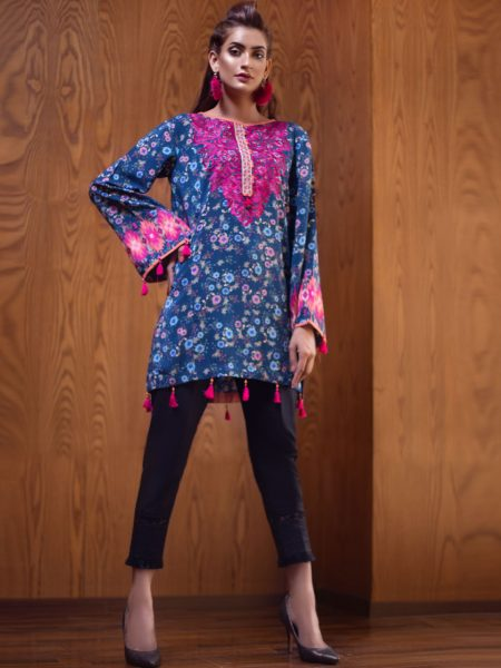 Artimmix LAWN PRINTED WITH EMB SHIRT AR02329