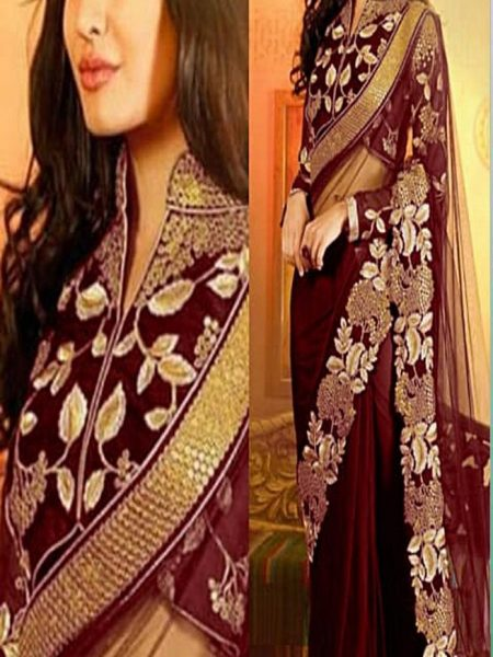 CHIFFON SAREE FOR WOMEN