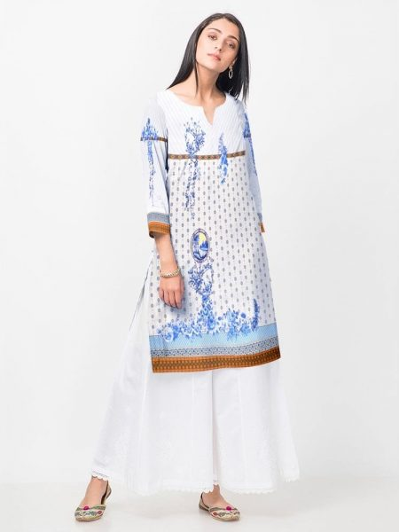 Digital Print Shirt D-019 By SAU Textile