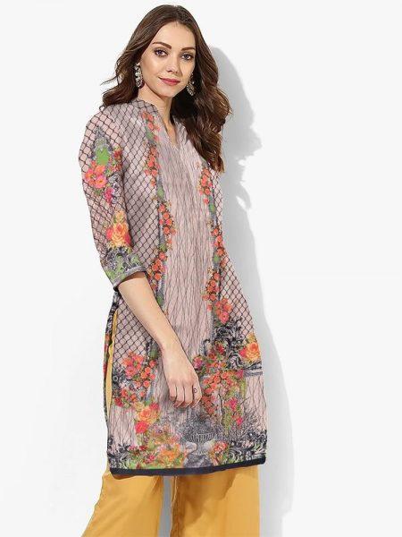 Digital Print Shirt D-021 By SAU Textile