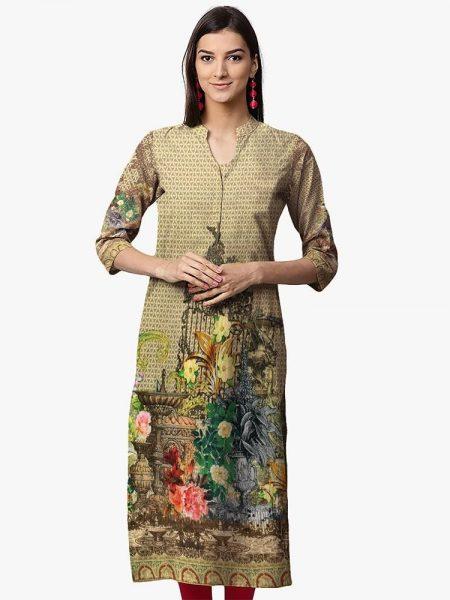 Digital Print Shirt D-022 By SAU Textile