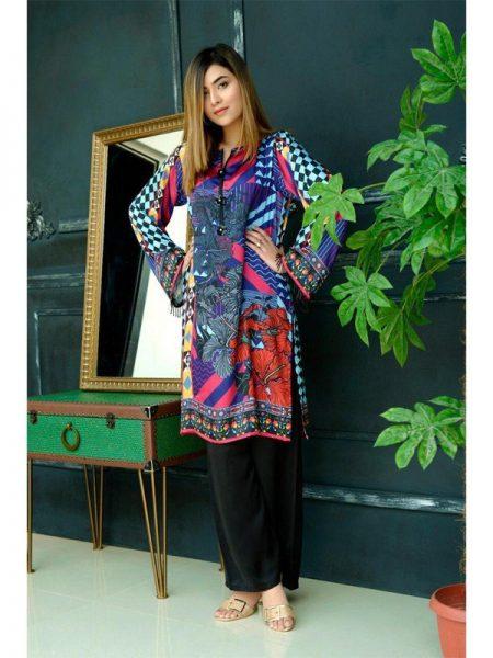 Eshgham Silk Collection Aatish YN-03 By Yusra Ansari