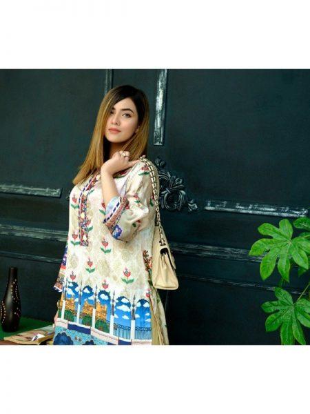 Eshgham Silk Collection Dor-e-Mughal YN-04 By Yusra Ansari