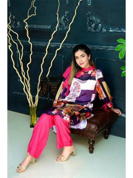 Eshgham Silk Collection Gul-e-Bahaar YN-06 By Yusra Ansari