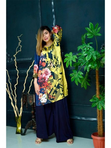 Eshgham Silk Collection Gulzaar YN-07 By Yusra Ansari
