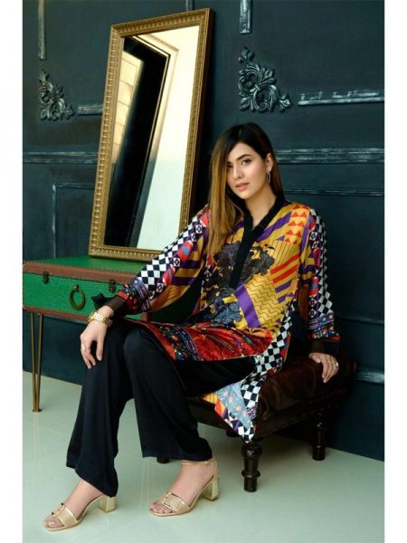 Eshgham Silk Collection Paikar-e-Husn YN-02 By Yusra Ansari