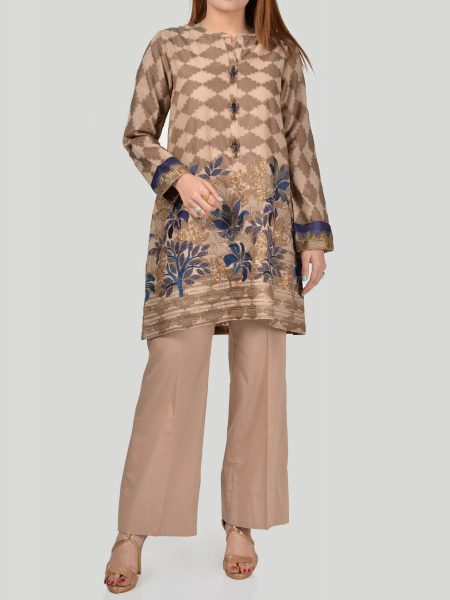 LimeLight Embroidered Jacquard Suit P1116