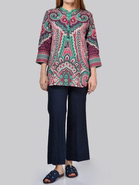 LimeLight Printed Khaddar Shirt P1299