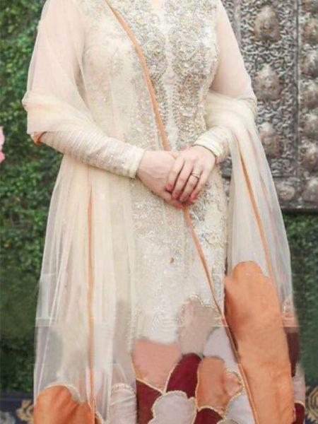 Luxury Wedding Chiffon Dress
