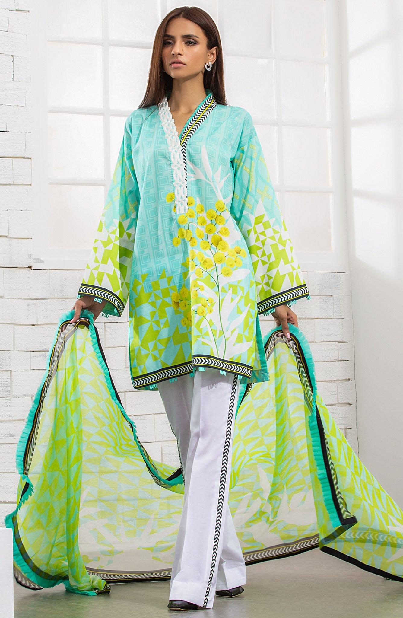 Orient Textiles The Nuovo Zephyr Otl 13 - Lawncollection pk