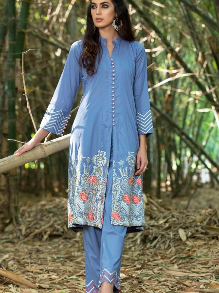 Origins Embroidered Cambric Shirt 18C44A
