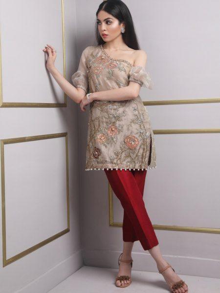 SFK Luxury Pret Blossom Attire SFK-007