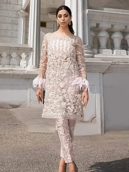 WOMEN ORGANZA & NET DRESS 2018
