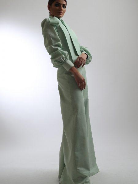 Alkaram Studio Catalyst Collection Printed Cambric Shirt C-4A-19-2-Green