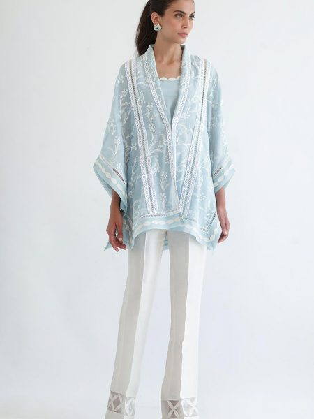 Sania Maskatiya Embroidered jacket with slip PD4952