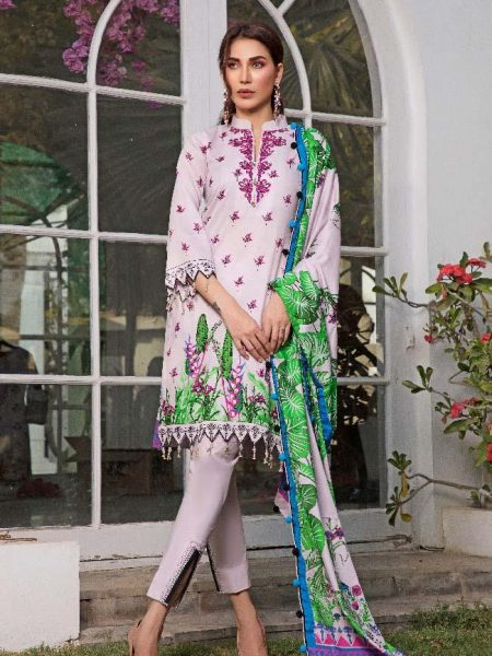 Al-Zohaib CL2-07A Colors Printed Lawn'19 Vol 2