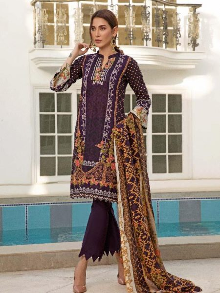Al-Zohaib CL2-10A Colors Printed Lawn'19 Vol 2