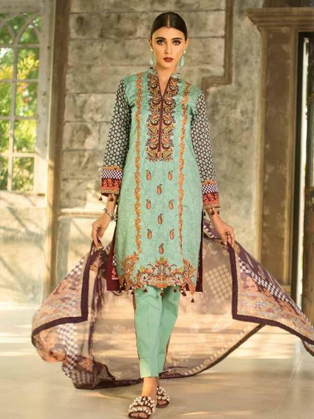 Al-Zohaib SS19L 6A - Summer Soiree Embroidered'19