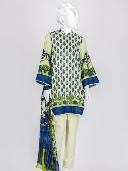 Junaid Jamshed Festive Collection-ii JLAWN-S-19-0160/S Bold Deco