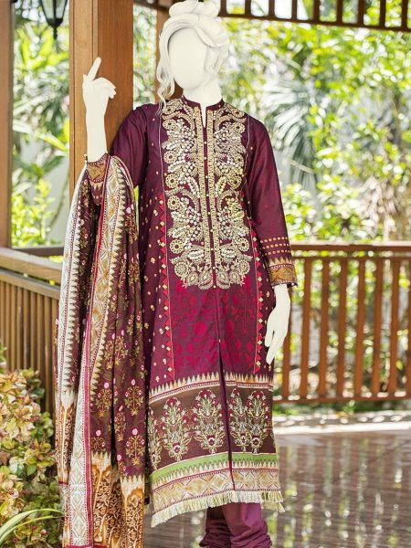 Junaid Jamshed Festive Collection-ii JLAWN-S-19-0198 Acanthus