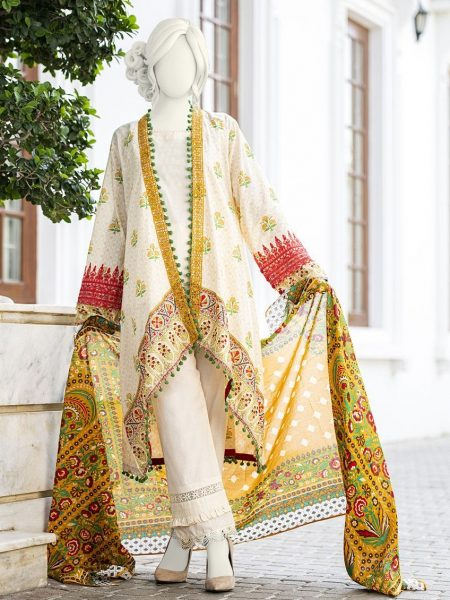 Junaid Jamshed Festive Collection-ii JLAWN-S-19-246/B Glaze