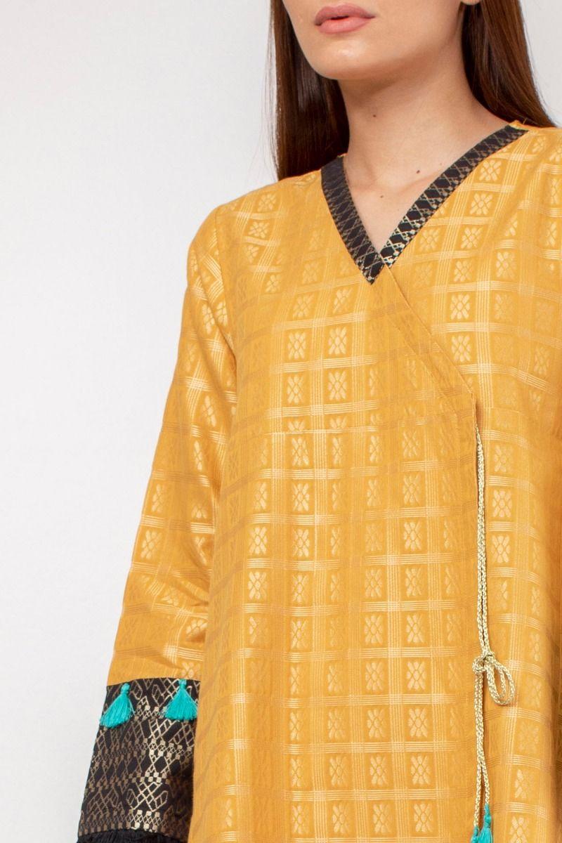 /2019/06/khaadi-basic-jacquard-kurta-wtb19202-mustard-image2.jpeg