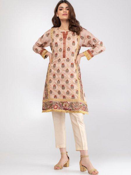 Khaadi Embroidered Kurta KSFE19209-Pink