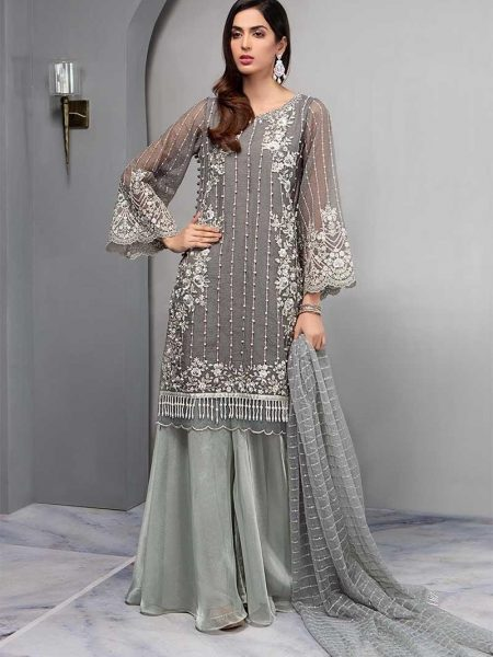 Maria.B Suit Grey SF-1685