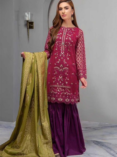 Maria.B Suit Pink DW-2180