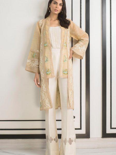 Sania Maskatiya Loose cut embroidered jacket PD5073
