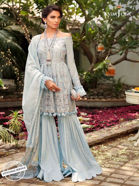 Asim Jofa Embroidered Collection Ajcn-02