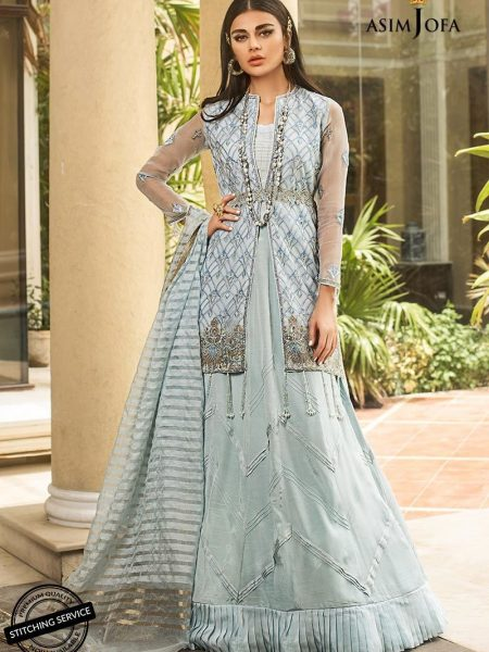 Asim Jofa Organza Collection Ajo-01