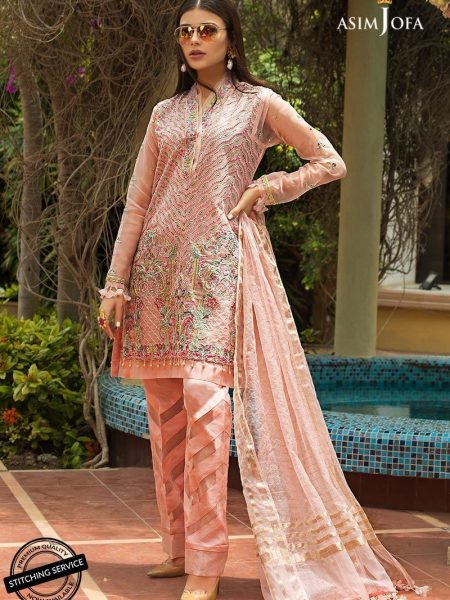 Asim Jofa Organza Collection Ajo-02